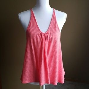 FREE PEOPLE XS Intimately top. Ribbed Coral. NWT